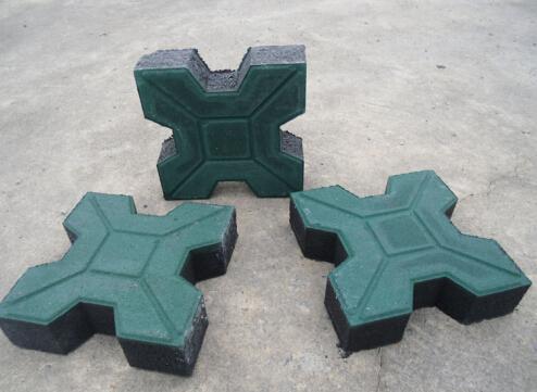 X形植草砖