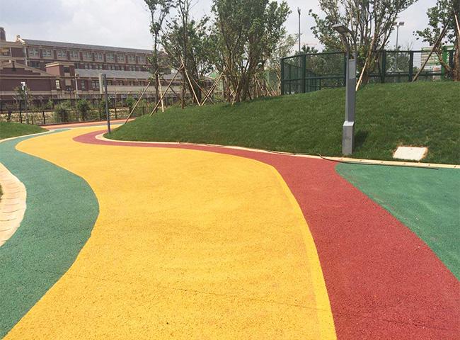 彩色混凝土路面